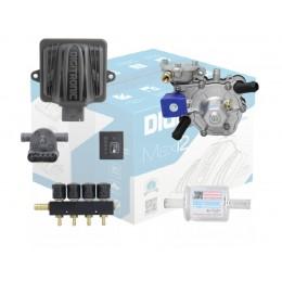 Комплект 4 цилиндра DIGITRONIC MAXI-2 NORDIC тип 30  до 125 кВт