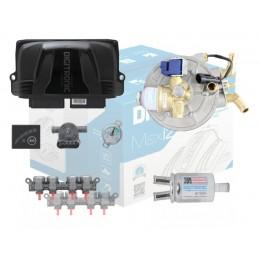 Комплект 8 цилиндров DIGITRONIC IQ EMER  АЕВ до 250 кВт